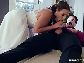 cuckold Bride Angela white luvs anal - Brazzers