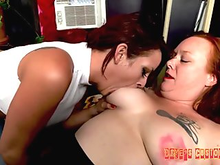 Extreme Tit Sucking Bella and Heidee