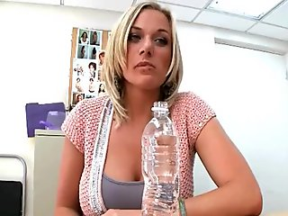 Pornstar in a banging act