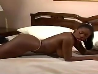 Busty nubian mature with big nipples striptease