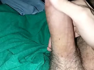 Huge dick stroked to pornhub women. Loud moaning mature tattooed male.