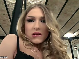 Frail Thirsty Aunty Lets Her Step Son Eat Her Pussy