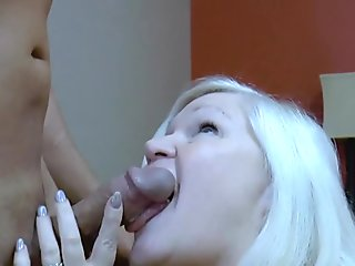 AgedLovE Handy Guy Seduced by Busty Mature Lady