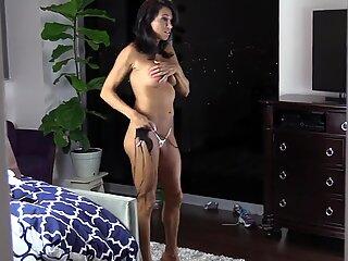 Amazing mature try on bikini