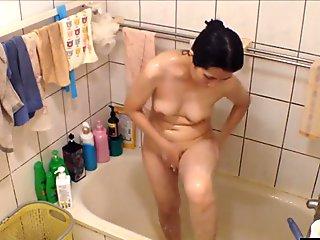 Mom from Singapore on hidden camera