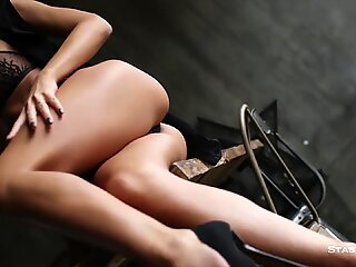 POV compilation of hot russian babes slowly stripping