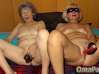 OmaPasS Amateur Old Granny Porn Solo Fun Video