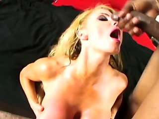 Busty blonde milf Taylor Wayne Moaning in delight with BBC