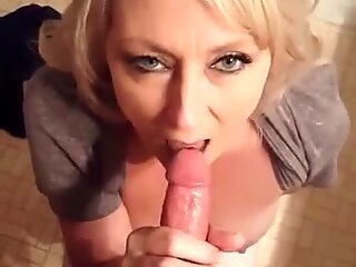 Hot MILF Blowjob 2