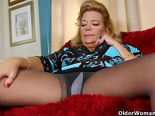 Grandma never told anyone about her pantyhose fetish