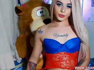 Most Beautiful Shemale Ever Masturbating On www.trans4u.ga