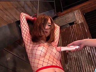 Obedient Momoka Sakai fucked and made to swallow